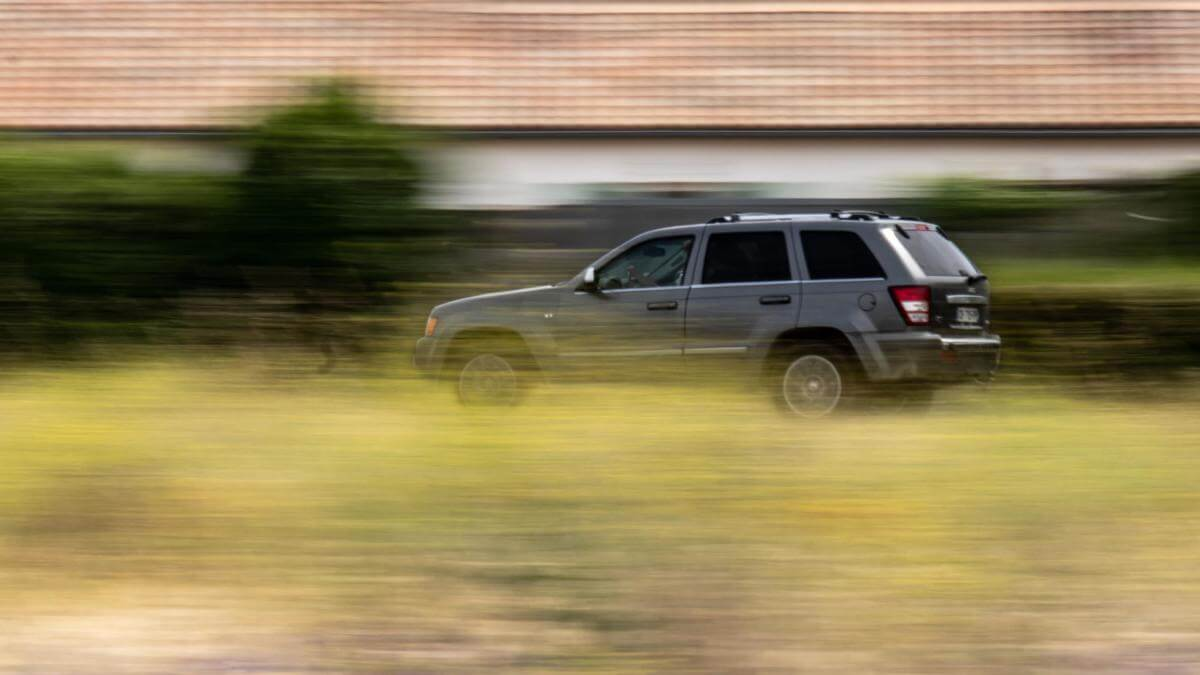 Ved denne fart får du klip i kørekortet