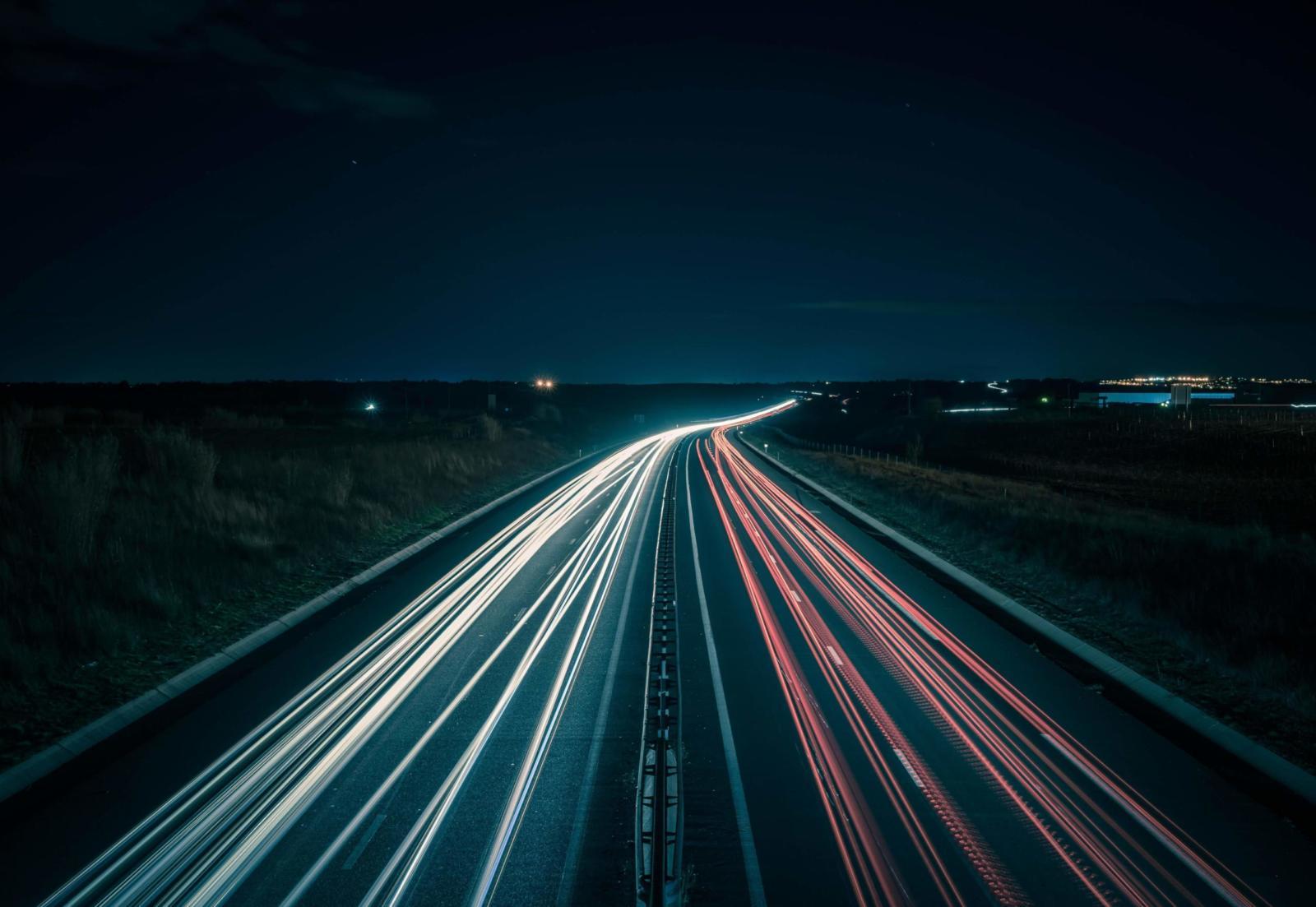 fartgrænser på motorvej