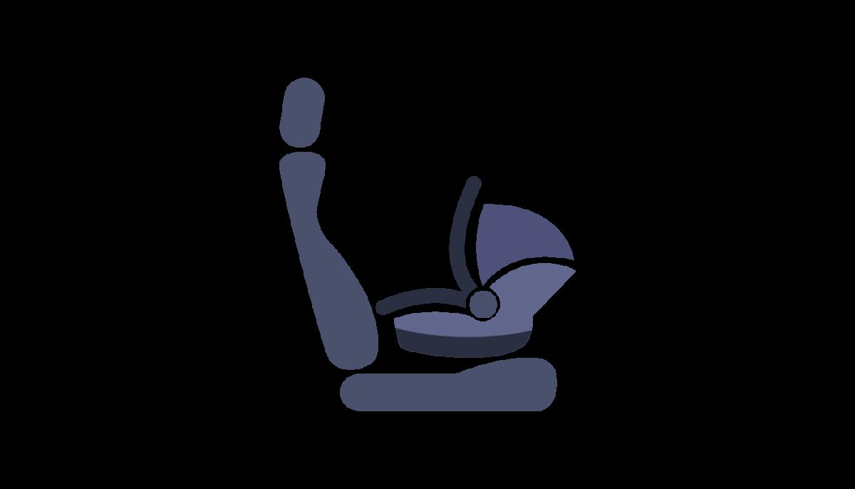 bagudvendt autostol til børn