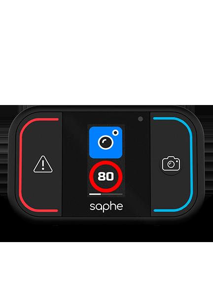 Saphe Drive Mini Verkehrsalarm mit der Alarmtyp Mobile Blitzer